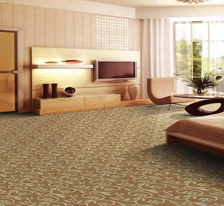 China wall to wall carpet roll high traffic Commercial carpet roll
