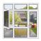 aluminum window assembly/double glazed windows aluminum