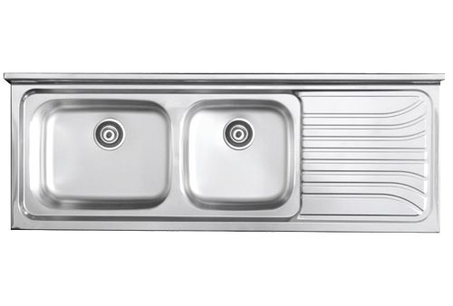 Lay-on/double sink SD1500(L/R)