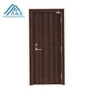 Fire resistant rated wood door design