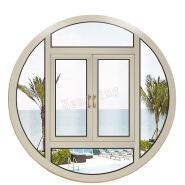 double hung not fade aluminum round windows