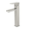 SS327-H Tengbo heightening 304 stainless steel single hole basin faucet wash and sink