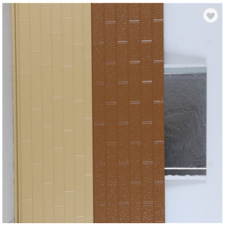 Outdoor Decoration Easy Installation Wall Fireproof External Wall Panels