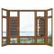 aluminum windows in florida/aluminum pivot windows