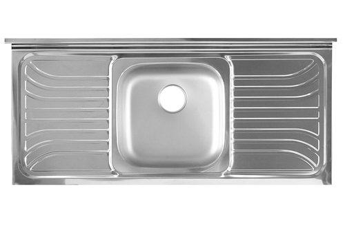 Lay-on single sink SSC1200