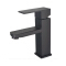 SS327-B3 Tengbo square 304 stainless steel black mixer tap