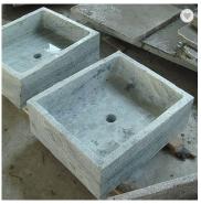 green marble wash basins