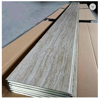 Modern Design Exterior Decorative Polyurethane Energy Saving Board Insulated Wall Panel