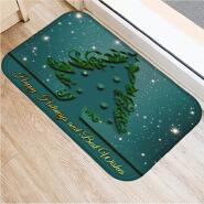 (CHAKME) Christmas popular amazon hot sale plush quick dry bath mat rug