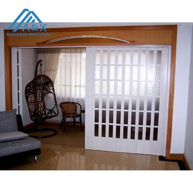 Nice design UPVC interior folding Door