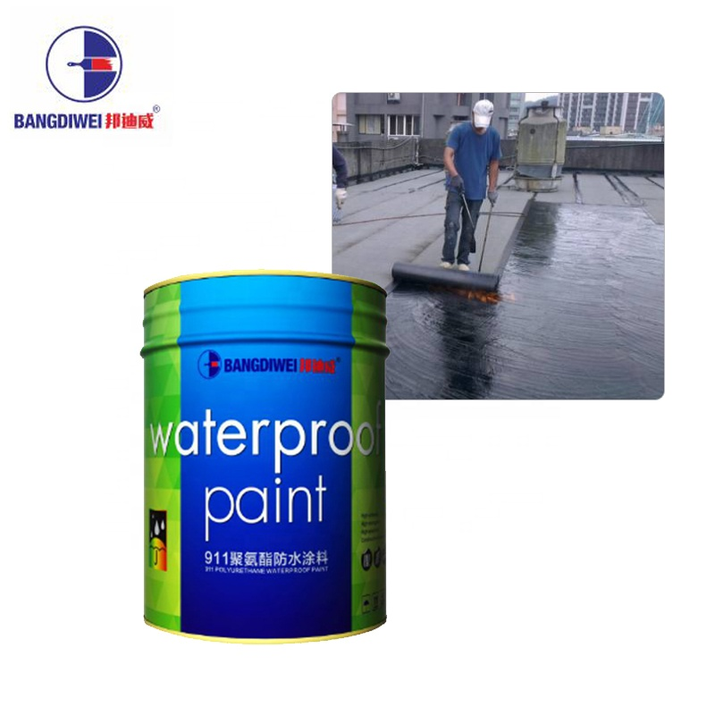 Flexible polyurethane waterproofing coating/paint