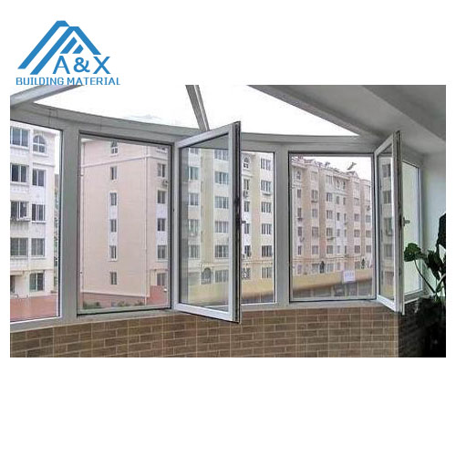 European Style UPVC Double-glass Casement Windows
