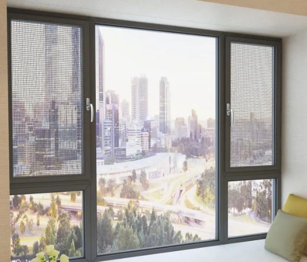 Aluminum Casement Glass Window Systems