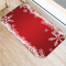 (CHAKME) Christmas design decorative memory foam cute commercial door mat