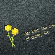 (CHAKME) Customized OEM Shaggy Non-Slip Waterproof Floor Polyester Door Mat