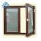 Wooden Color UPVC Casement Window