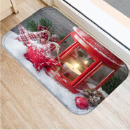 (CHAKME) Christmas factory price high quality soft floor kids non slip bath rug mat