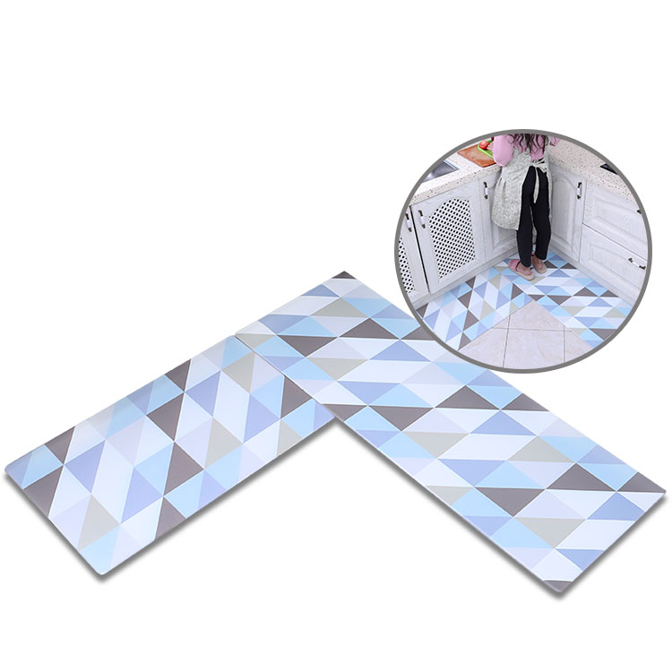 (CHAKME) Water Absorbent Home Decoration Extra Large Bath Floor Mats Non Slip Kitchen Mat