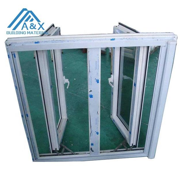Double UPVC Casement Window/Double glass