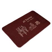 (CHAKME) Home custom non-slip red kitchen chef cushion floor mat rugs