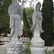 garden granite female Buddha statue