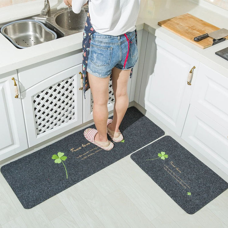 (CHAKME) Non-Slip Rug Pad Dust Removal Absorb Water Kitchen Rug
