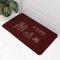 (CHAKME) Anti slip custom printed logo thin wipeable kitchen floor mats long