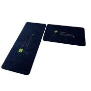 (CHAKME) Dust Control Polyester Non Slip Floor Protection Mat For Kitchen Use