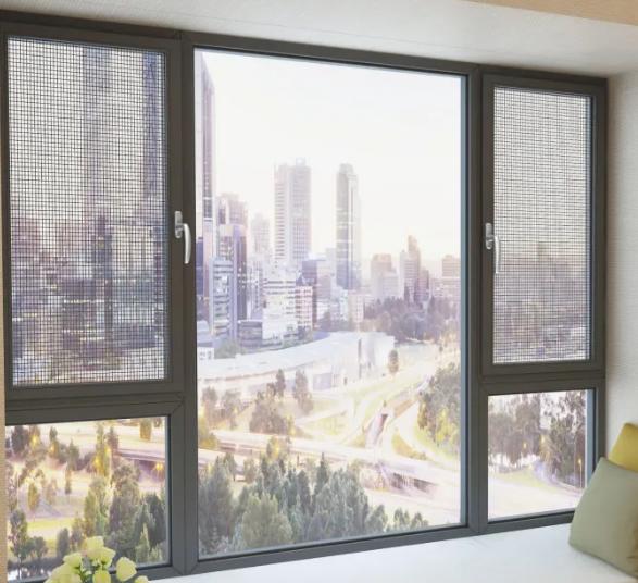 Aluminium Casement Glass Window System