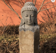 kwan yin life size garden statues
