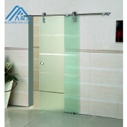 European type 304 Stainless Steel Sliding Interior Glass Door