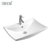 UPC Home modern design retangular bathroom sink art wash basin