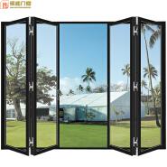 China commercial aluminium french doors/aluminum sliding&folding door