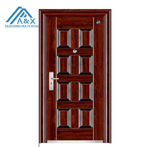 Good quality exterior security steel door