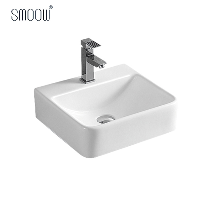 Home decorative rectangular ceramic art wash basin designs in living room