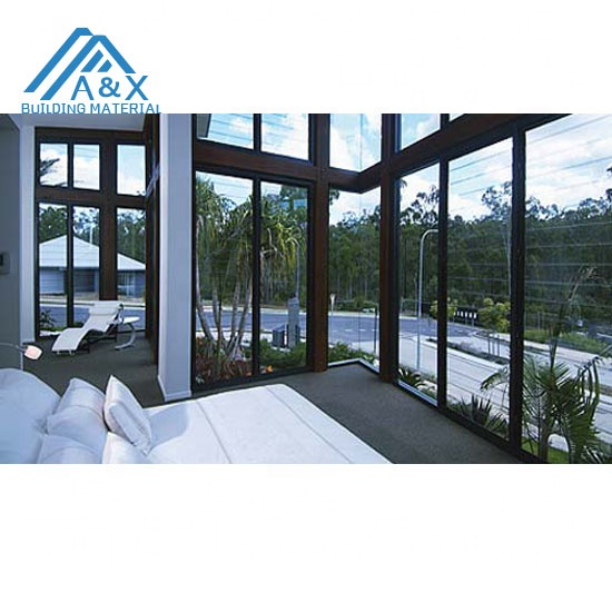 Aluminium glass shutter