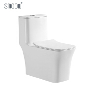 Popular OEM S-trap siphonic one piece water closet for bathroom ceramic