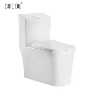 New design special shape siphonic one piece toilet for bathroom water closet