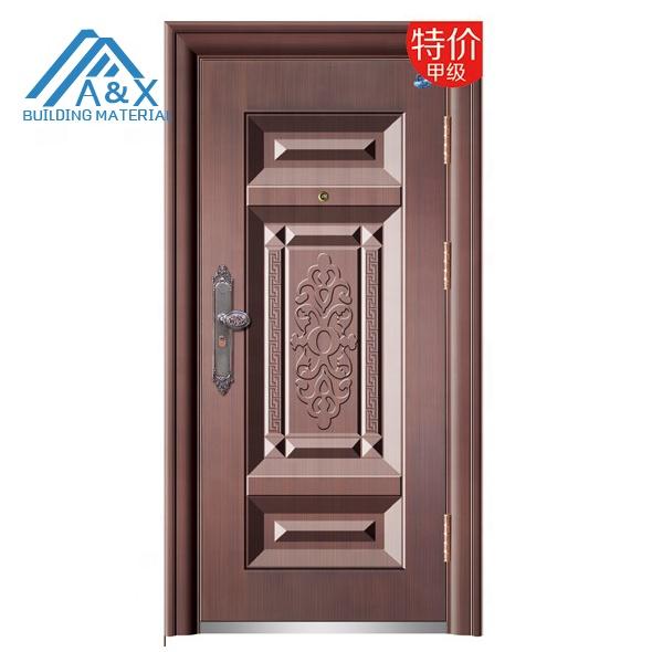 Copper color European Steel Security Door