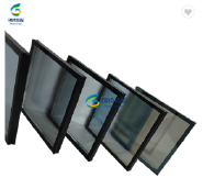 over size insulated glass for 6+12A+6,8+12A+8 grey reflective tempered glass for building