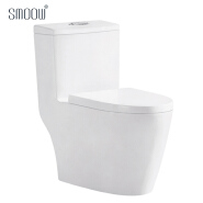 Cheap India bathroom siphonic one piece toilet bowl porcelain for elderly