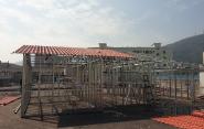 Galvanized steel top hat purlins,roof batterns for australia market