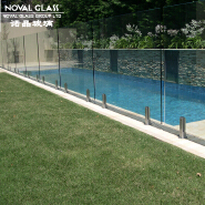 CE Certified Safety Toughened Glass Railing Fence
