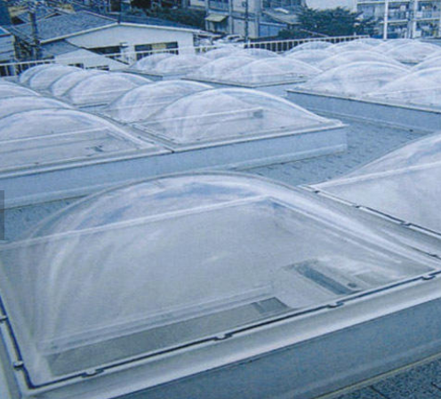 Good Sound Insulation Dome Skylight / Skylight Dome / Roof Skylight Covers