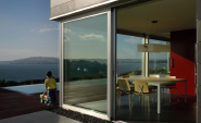 Thermal Break Aluminum/ Aluminium Glass Lift Sliding Door