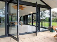 Aluminum Hinged Glass Door Systems