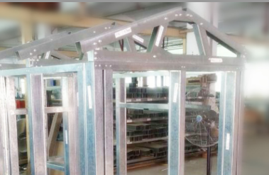 Prefabricated home light steel frame house