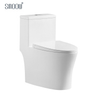 Modern design sanitary ware ceramic remless siphonic one piece wc toilet bowl with ce saso