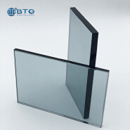 commercial 12mm 15mm 19mm brown tempered tinted glass