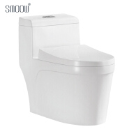 High class siphonic woman commode one piece toilet wc for South America